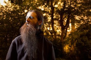 Aubrey De Grey of the SENS Research Foundation photographed by Peter Searle for Newsweek
