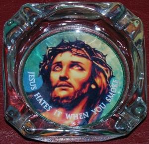Jesus ashtray
