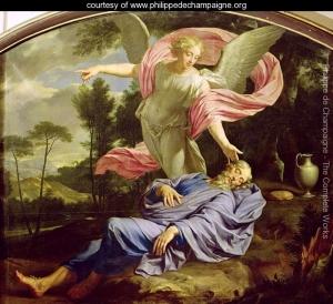 Dream of Elijah painting