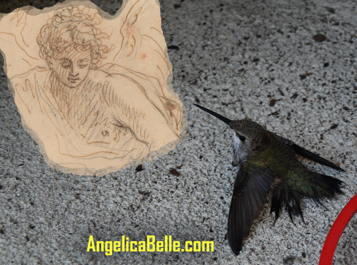 Patience with angel