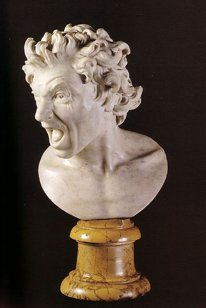 Bernini damned soul